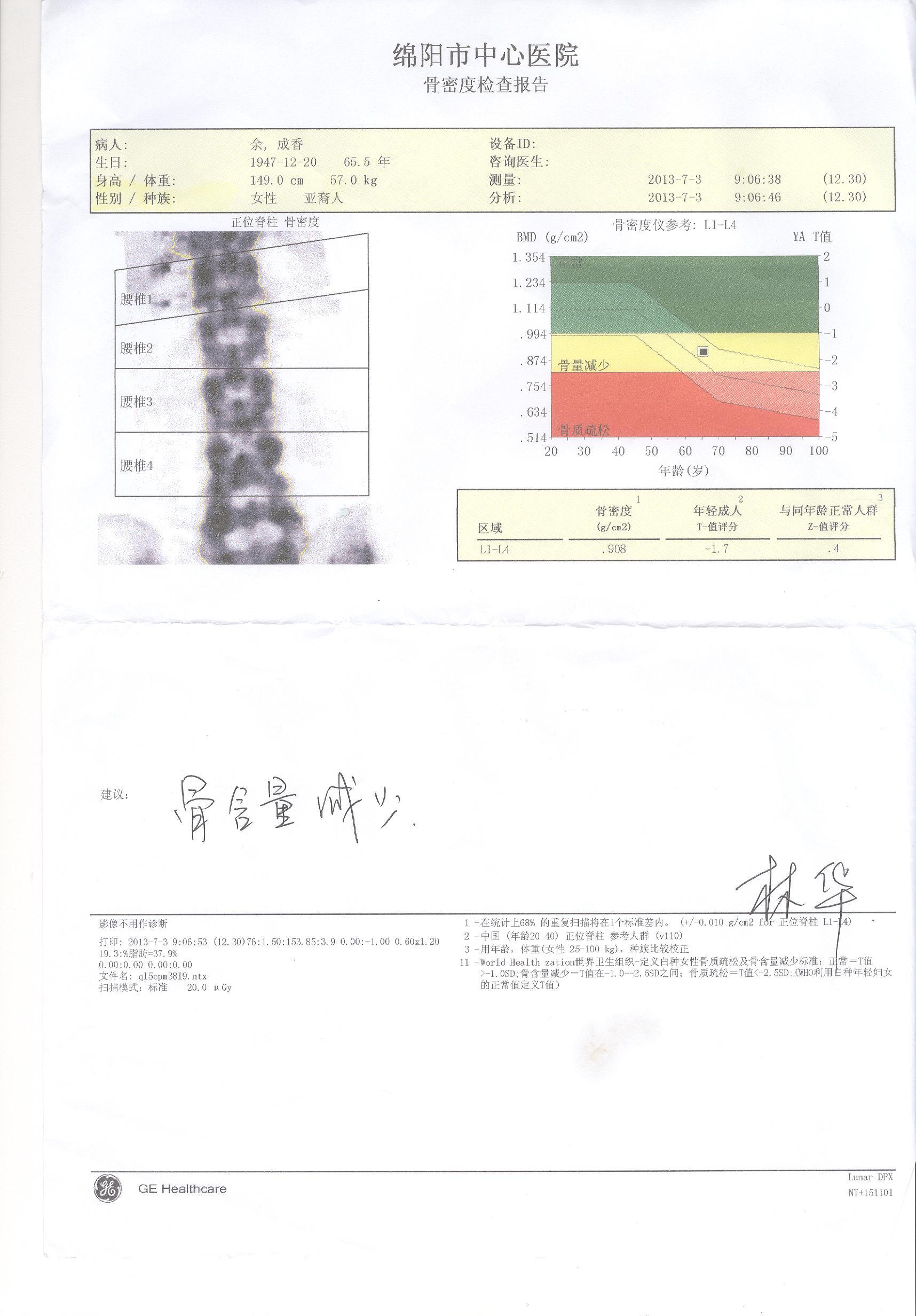 考虑骨岛,双侧髋关节及骶髂关节间隙清晰,关节结构正常.